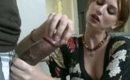 Big black dick in white woman